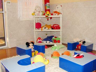 Sala de espera dos bebês
